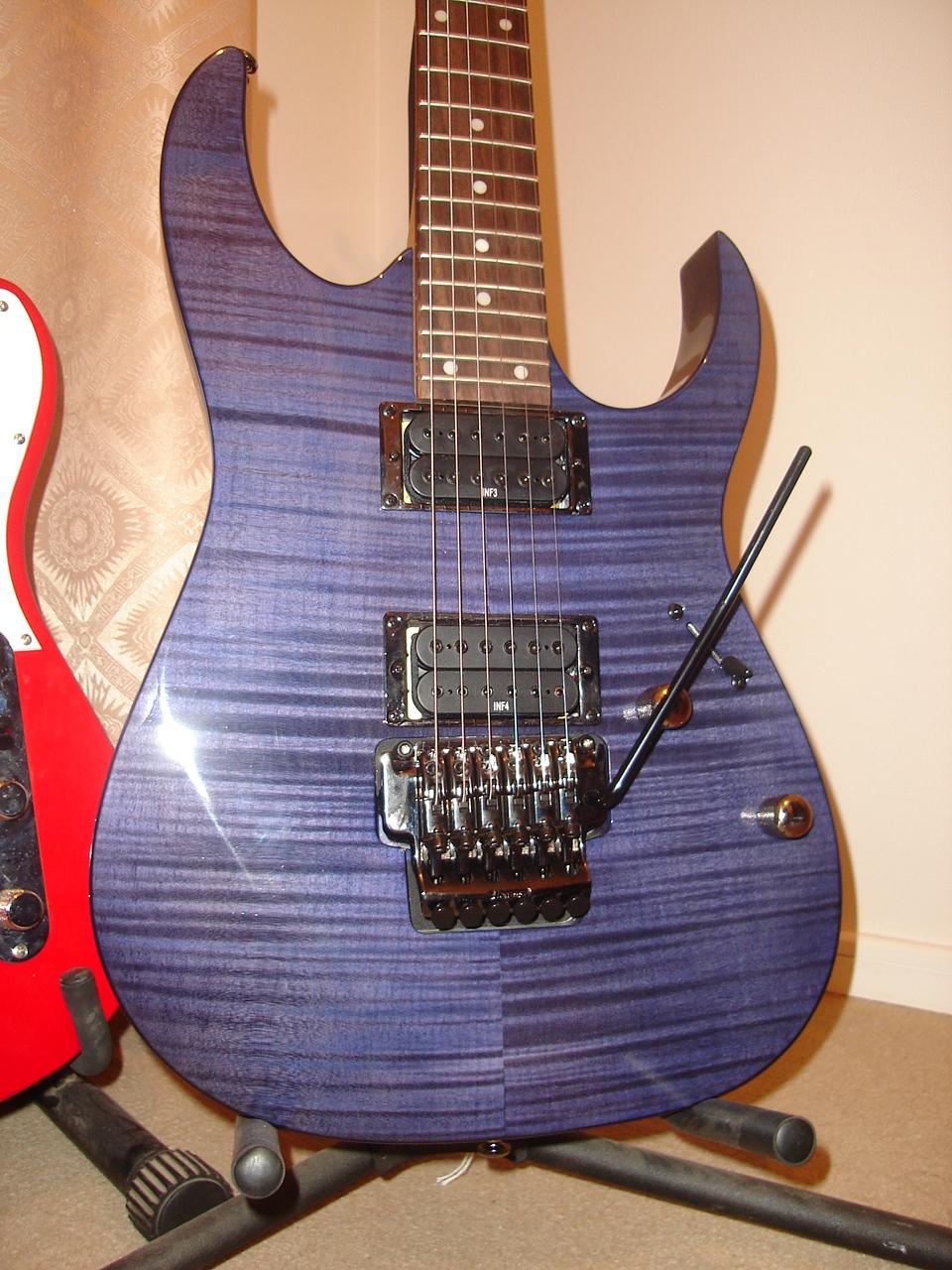 help restringing a guitar with a floyd rose bridge guitar. Black Bedroom Furniture Sets. Home Design Ideas