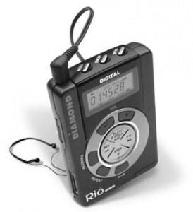 Reproductor de MP3 RIO