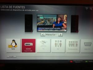 NAS en LG Smart TV