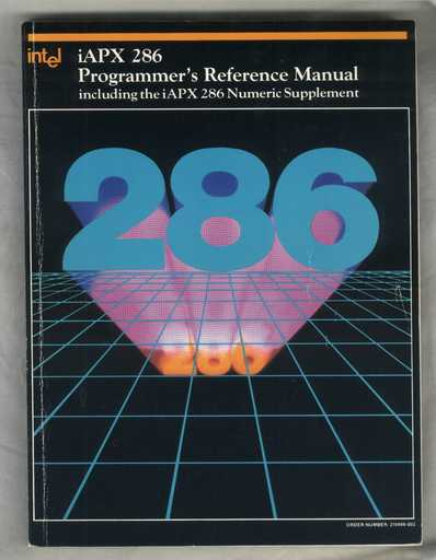 Intel 286 programming